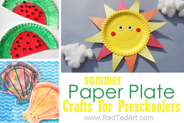 Best ideas about Summer Craft Ideas For Preschoolers . Save or Pin 47 Summer Crafts for Preschoolers to Make this Summer Now.