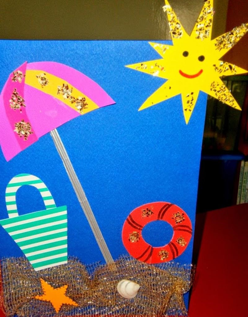 Best ideas about Summer Craft Ideas For Preschoolers . Save or Pin Crafts Actvities and Worksheets for Preschool Toddler and Now.