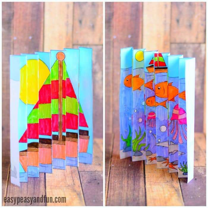Best ideas about Summertime Craft Ideas For Kids . Save or Pin 15 Summer Craft Ideas for Kids Passion for Savings Now.