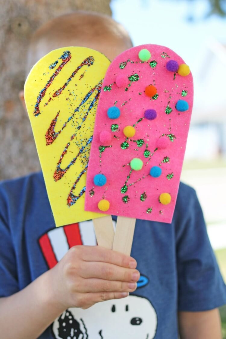 Best ideas about Summertime Craft Ideas For Kids . Save or Pin Easy Summer Kids Crafts That Anyone Can Make Happiness Now.