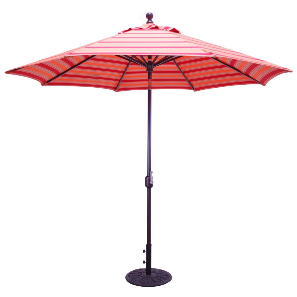 Best ideas about Sunbrella Patio Umbrellas . Save or Pin Galtech 9 ft Sunbrella Aluminum Deluxe Auto Tilt Patio Now.
