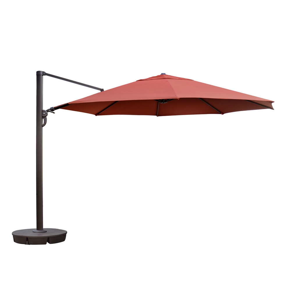 Best ideas about Sunbrella Patio Umbrellas . Save or Pin Island Umbrella NU67 Victoria 13 ft Octagonal Cantilever Now.