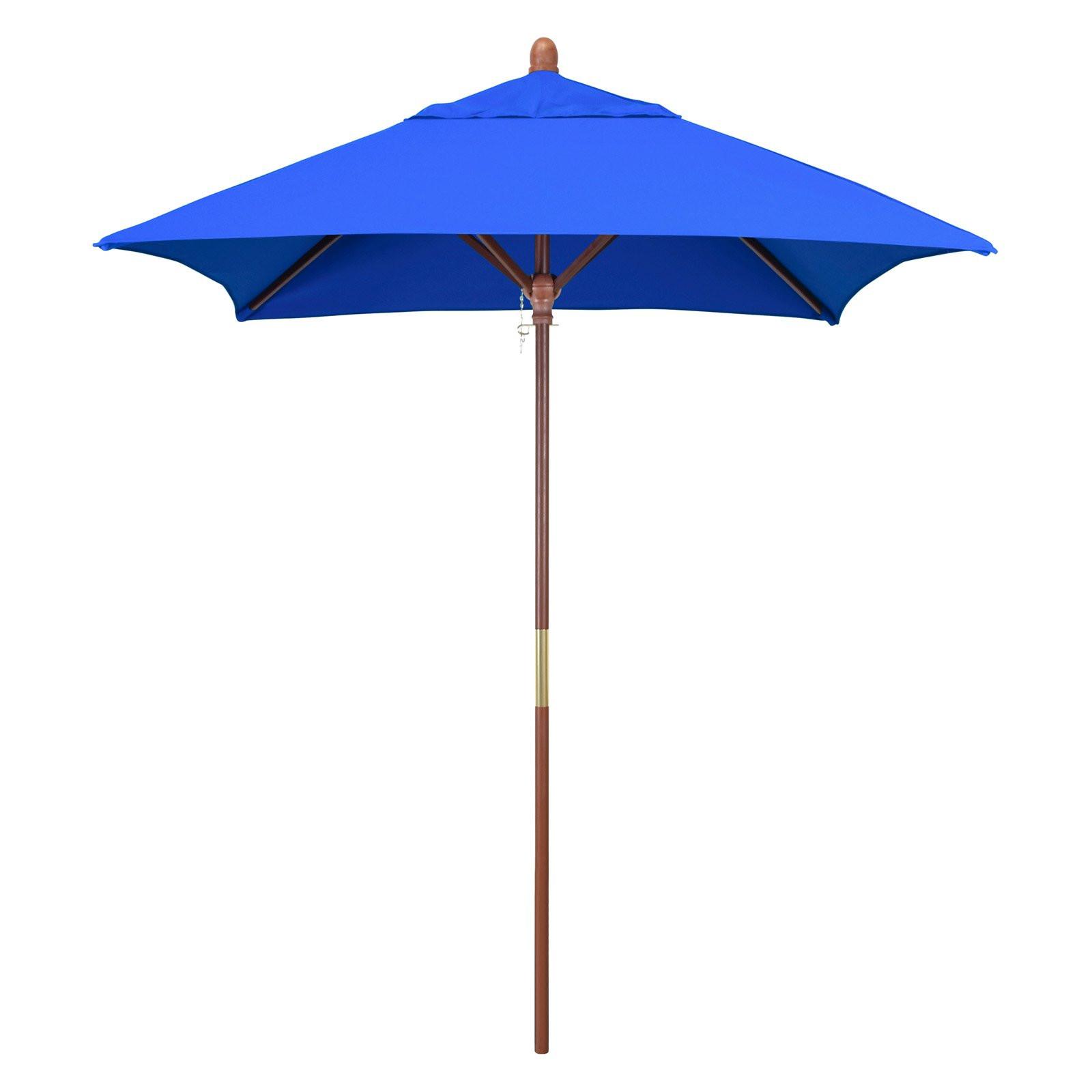 Best ideas about Sunbrella Patio Umbrellas . Save or Pin California Umbrella 6 ft Square Marenti Wood Sunbrella Now.