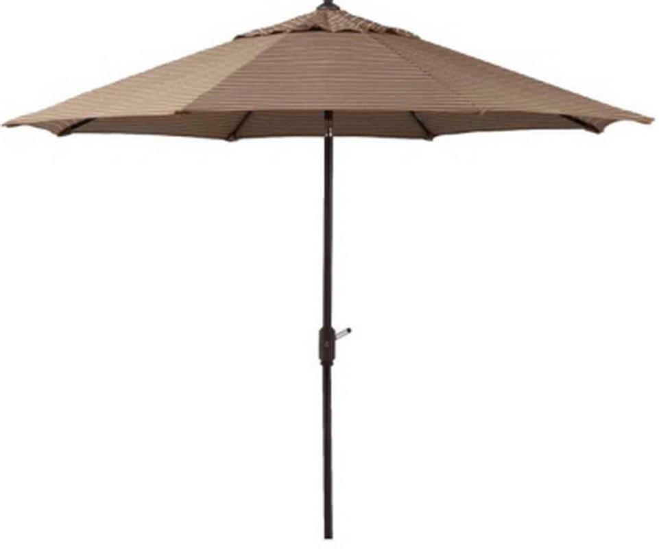Best ideas about Sunbrella Patio Umbrellas . Save or Pin New 10 Patio Market Umbrella Mocha Stripe Sunbrella Now.