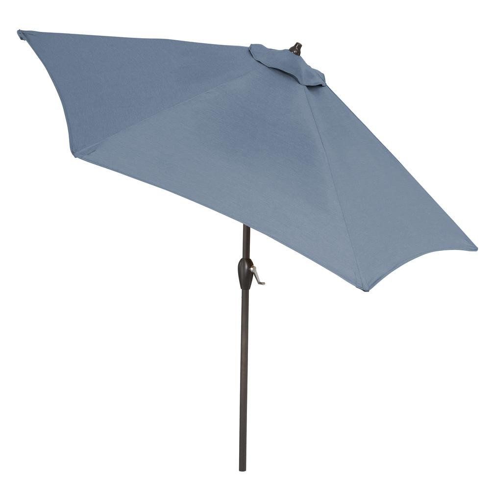 Best ideas about Sunbrella Patio Umbrellas . Save or Pin Plantation Patterns 9 ft Aluminum Market Tilt Patio Now.