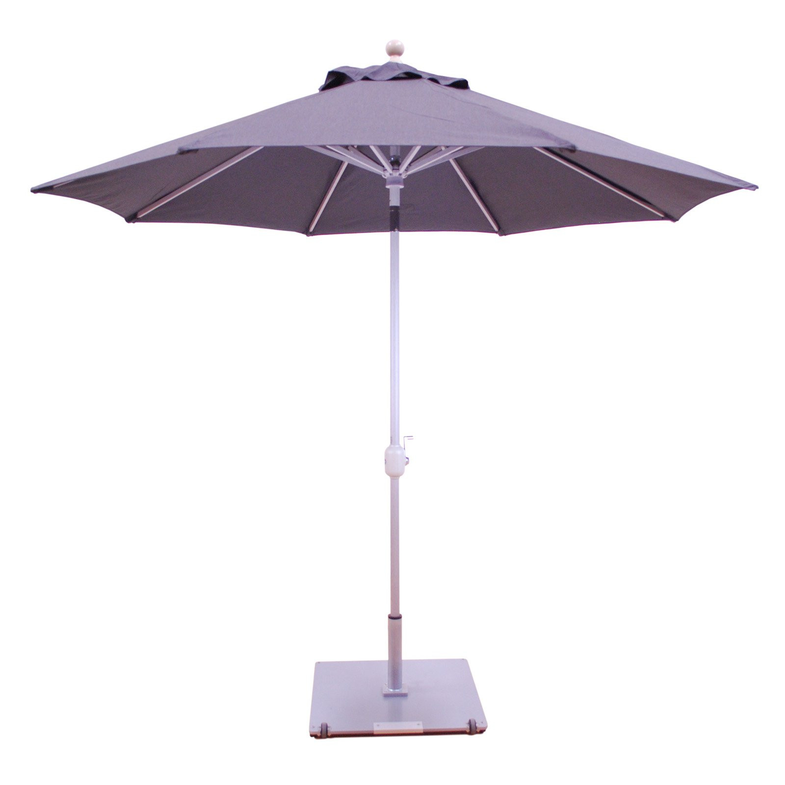 Best ideas about Sunbrella Patio Umbrellas . Save or Pin Galtech 9 ft Sunbrella Aluminum Patio Umbrella with Auto Now.