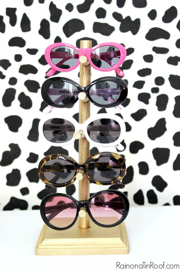 Best ideas about Sunglass Organizer DIY . Save or Pin DIY Sunglasses Holder for $5 Now.