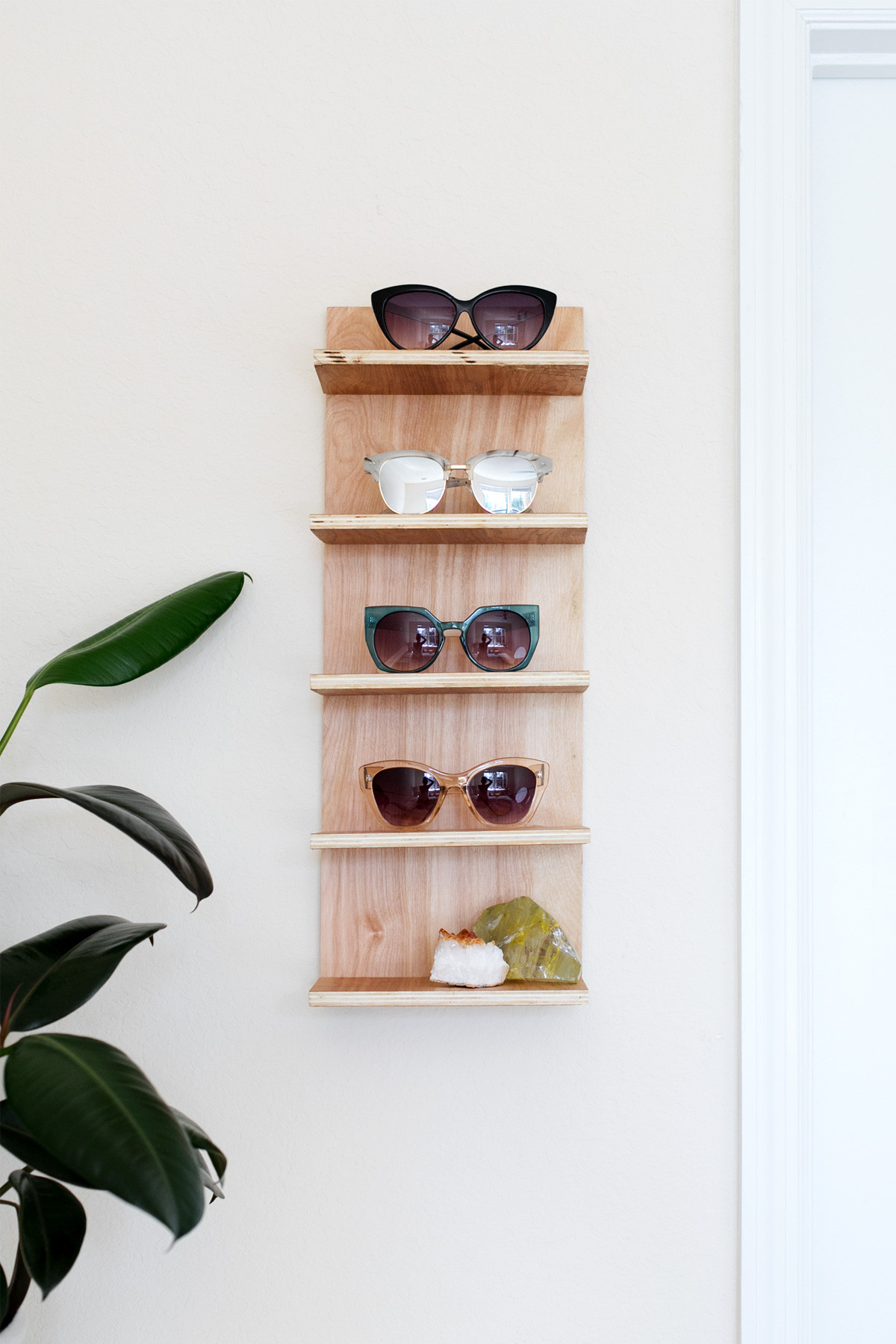 Best ideas about Sunglass Organizer DIY . Save or Pin Renter Friendly DIY Sunglasses Holder for End of Summer Now.