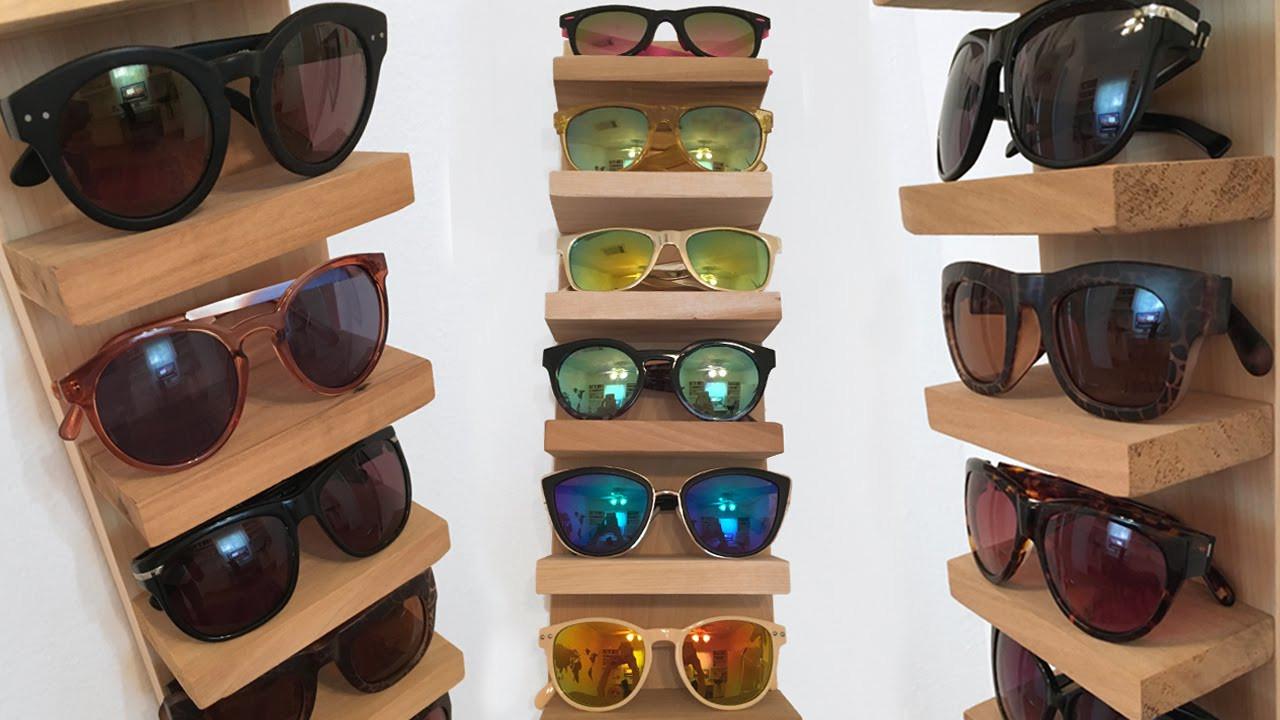 Best ideas about Sunglass Organizer DIY . Save or Pin Sunglass Rack Organizer DIY Now.