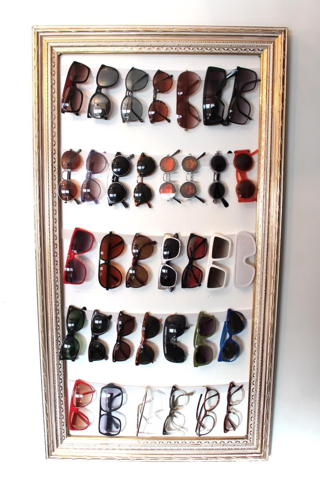 Best ideas about Sunglass Organizer DIY . Save or Pin 10 Beautiful DIY Ways to Declutter Your Closet Now.