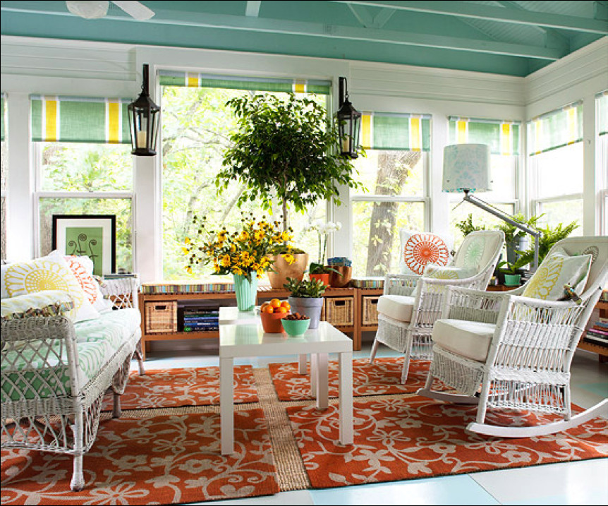 Best ideas about Sunroom Furniture Ideas Decorating Sunrooms . Save or Pin Sunroom Decorating Ideas Now.