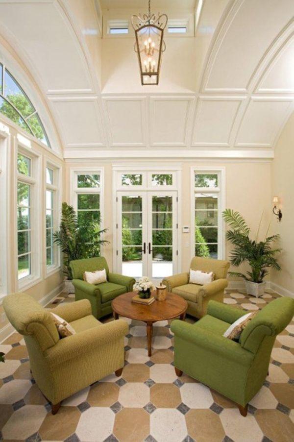 Best ideas about Sunroom Furniture Ideas Decorating Sunrooms . Save or Pin 35 Beautiful Sunroom Design Ideas Now.