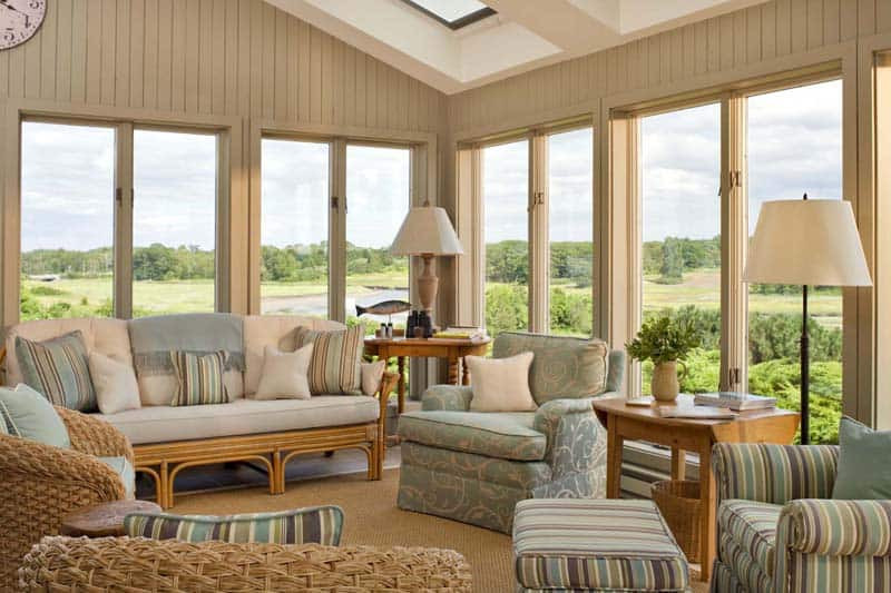 Best ideas about Sunroom Furniture Ideas Decorating Sunrooms . Save or Pin 40 Awesome Sunroom Design Ideas Now.