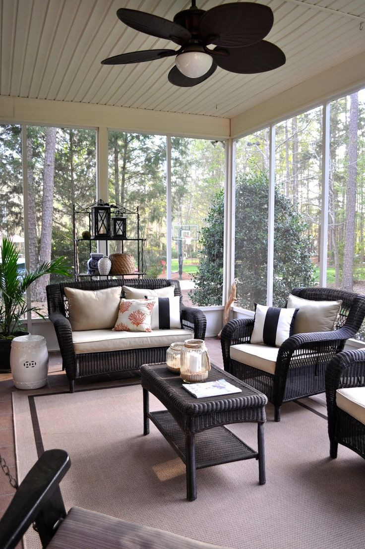 Best ideas about Sunroom Furniture Ideas Decorating Sunrooms . Save or Pin 25 great ideas about Wicker patio furniture on Pinterest Now.