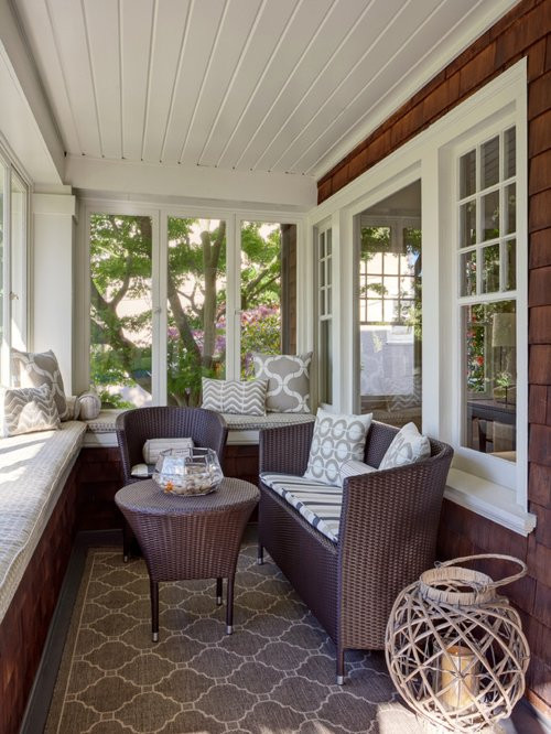 Best ideas about Sunroom Furniture Ideas Decorating Sunrooms . Save or Pin Small Sunroom Home Design Ideas Remodel and Decor Now.