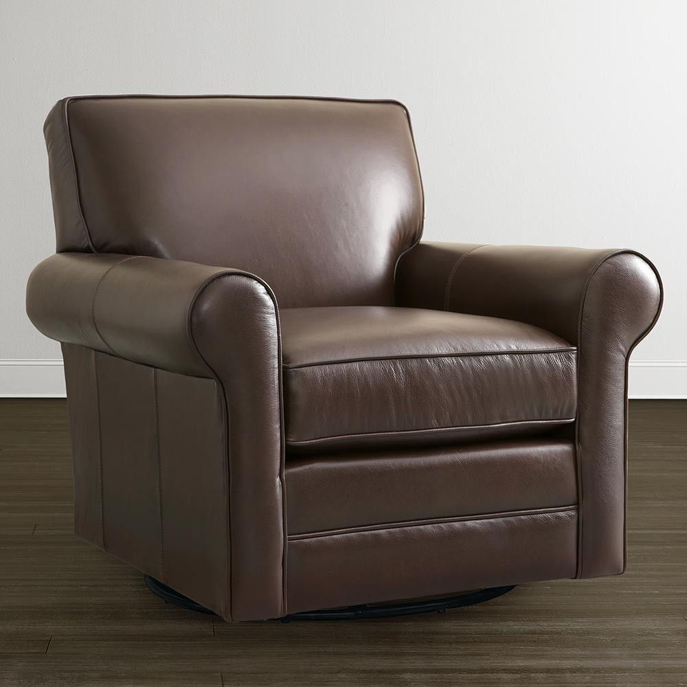 Best ideas about Swivel Glider Chair . Save or Pin Classic Leather Swivel Glider Chair Now.