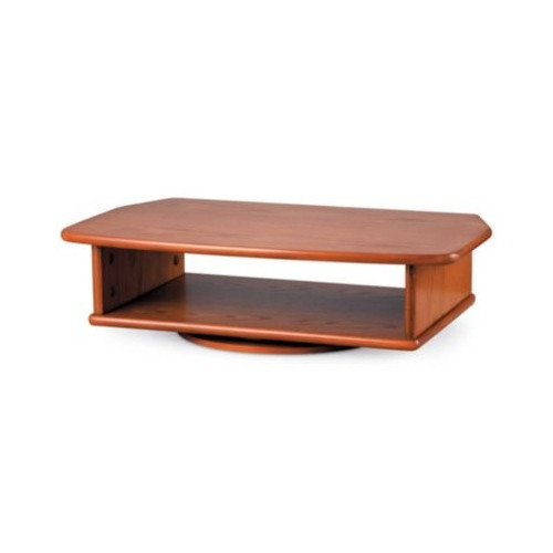 Best ideas about Table Top Swivel Tv Stand . Save or Pin TV DVD Tabletop Turntable Swivel Stand Oak Finish Now.