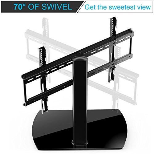 Best ideas about Table Top Swivel Tv Stand . Save or Pin Fitueyes Universal Table Top TV Stand for 32 to 65 inch Now.