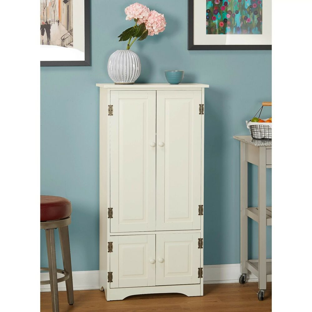 Best ideas about Tall Pantry Cabinet . Save or Pin Tall Kitchen Cabinet Storage Organizer Furniture Bathroom Now.