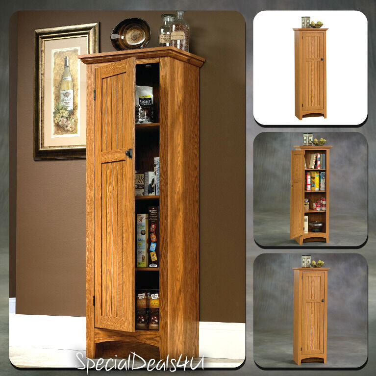 Best ideas about Tall Pantry Cabinet . Save or Pin Kitchen Storage Cabinet Pantry Organizer Tall Cupboard Now.