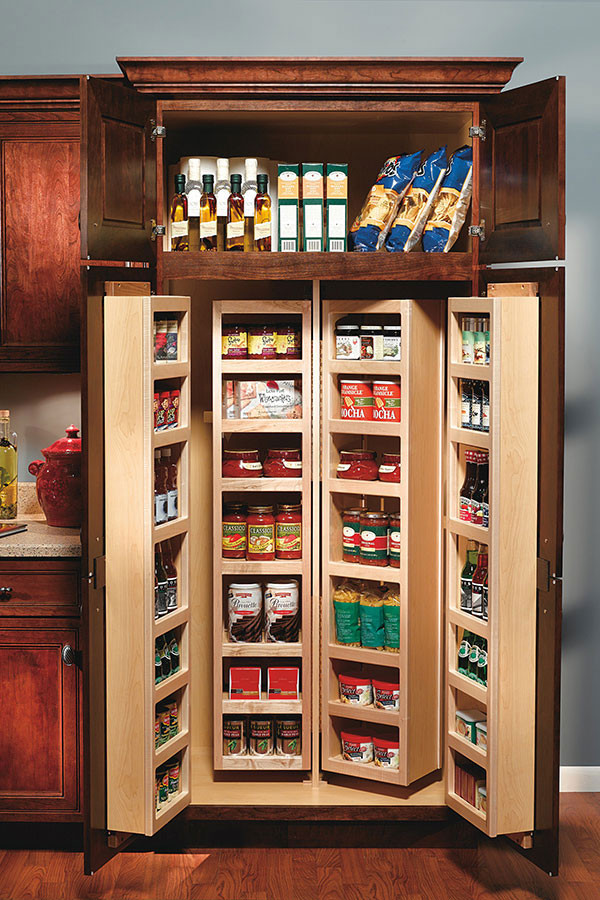 Best ideas about Tall Pantry Cabinet . Save or Pin Tall Swing Out Pantry Cabinet Decora Cabinetry Now.