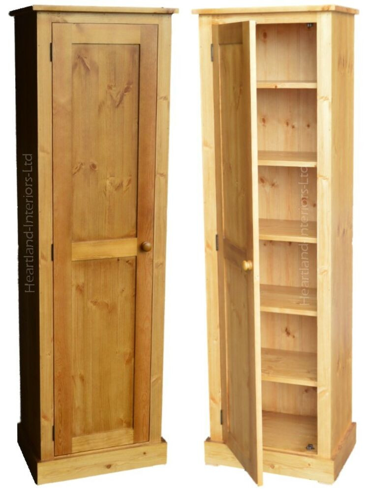 Best ideas about Tall Pantry Cabinet . Save or Pin Solid Pine Cupboard 172cm Tall Lacquered Linen Pantry Now.