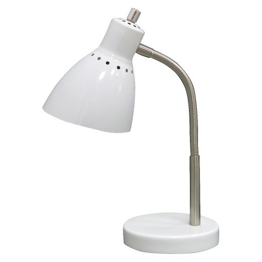 Best ideas about Target Desk Lamps . Save or Pin Desk Lamp Includes CFL bulb White Room Essentials Tar Now.
