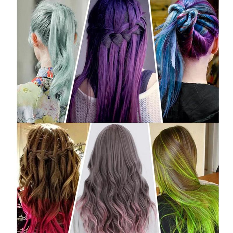 Best ideas about Temporary Hair Color DIY . Save or Pin Temporary Color Hair Dye Mascara Hair Chalk Non toxic Hair Now.