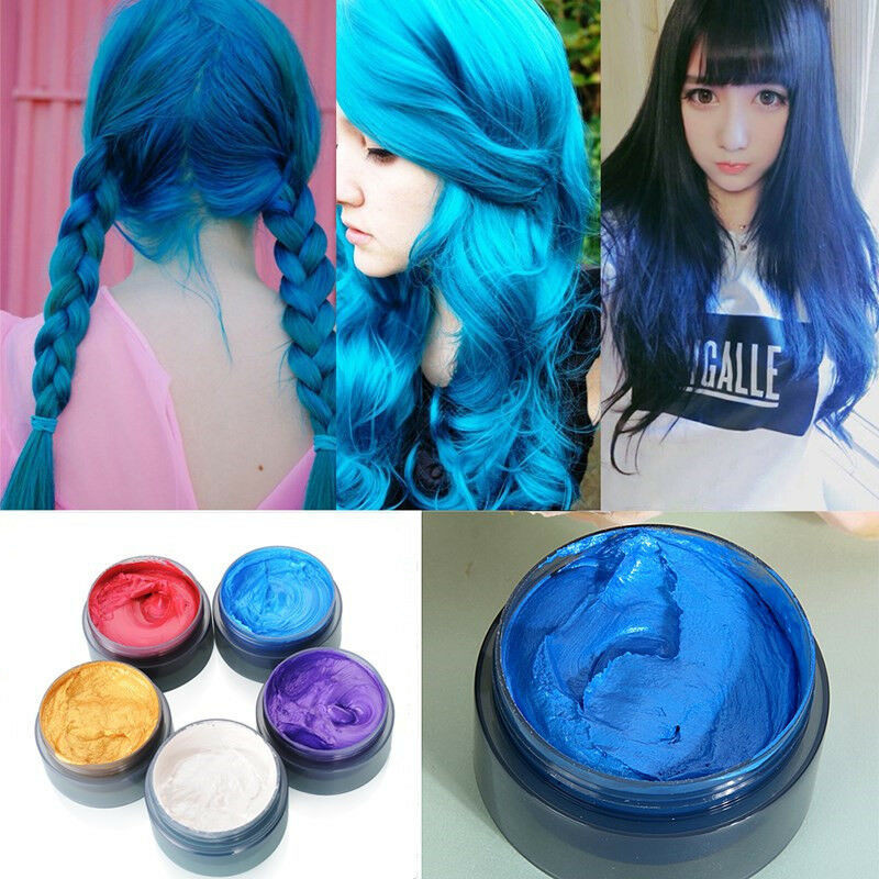 Best ideas about Temporary Hair Color DIY . Save or Pin 5 Colors Disposable Hair Color Wax Mud Dye Coloring Cream Now.