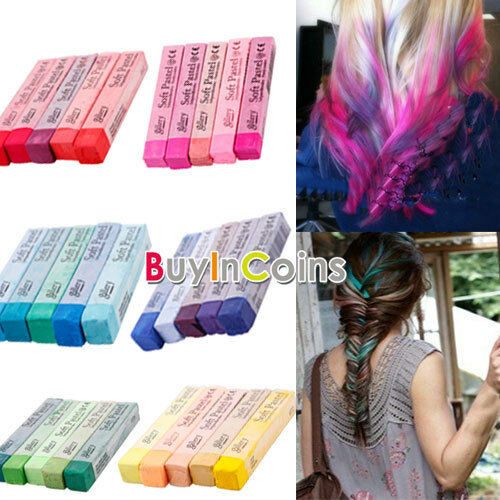 Best ideas about Temporary Hair Color DIY . Save or Pin 5 Color Pink Purple Red Green Blue Non toxic Temporary Now.