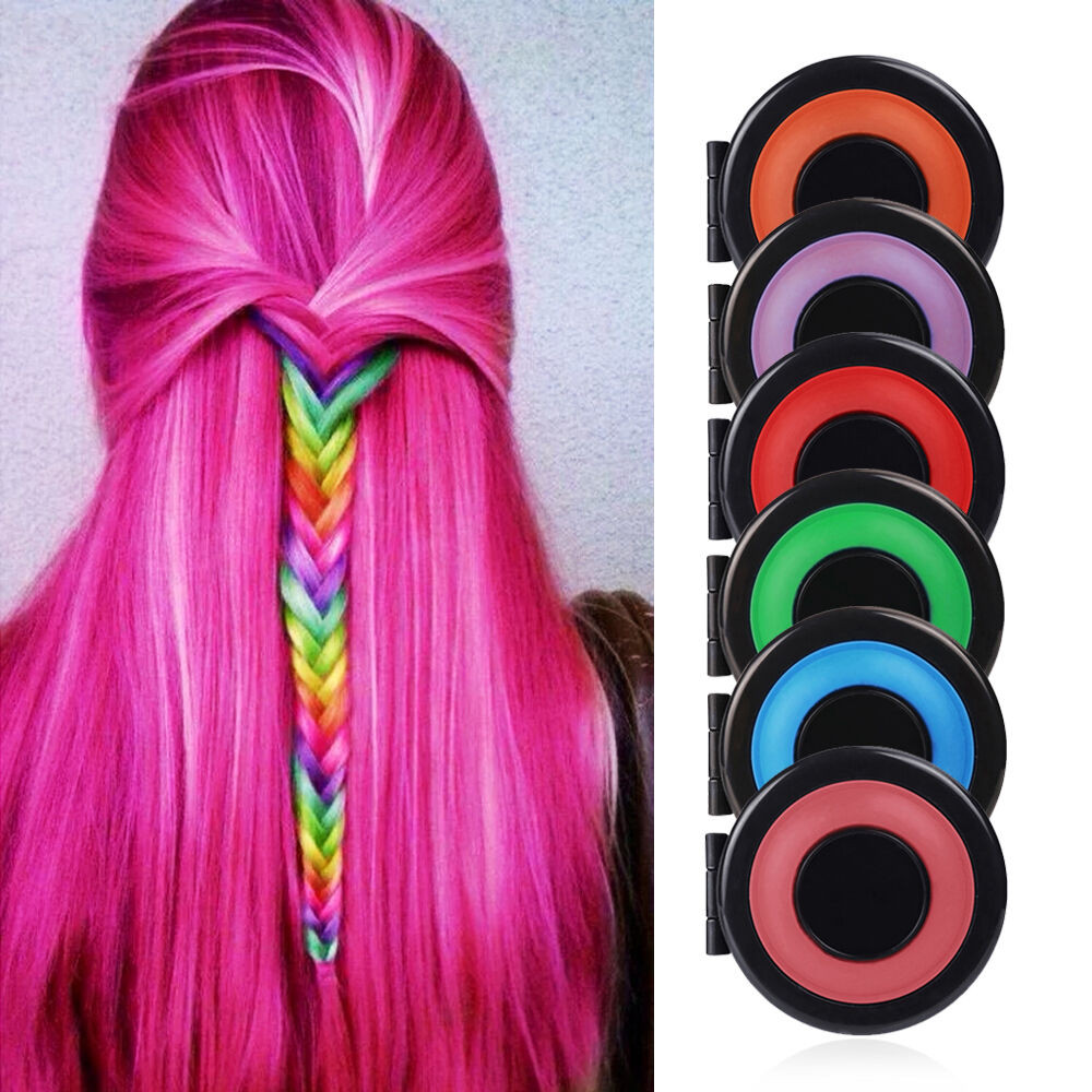 Best ideas about Temporary Hair Color DIY . Save or Pin 6 PCS DIY Temporary Hair Chalk Special Color Dye Pastels Now.