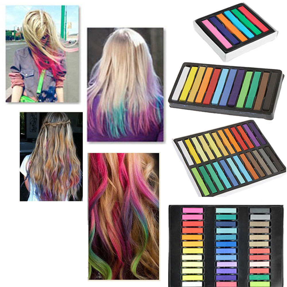Best ideas about Temporary Hair Color DIY . Save or Pin DIY Easy Temporary Fast Colors Hair Chalk Dye Soft Hair Now.