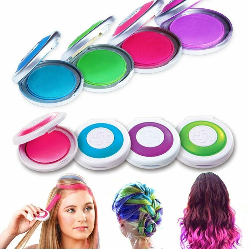 Best ideas about Temporary Hair Color DIY . Save or Pin 4 colors Non toxic Temporary Easy DIY Hair Chalks Dye Now.