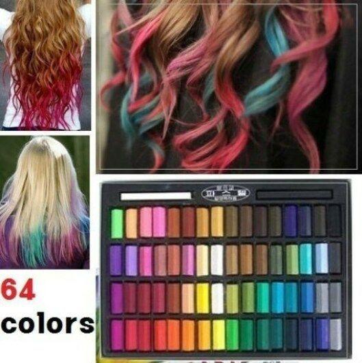 Best ideas about Temporary Hair Color DIY . Save or Pin 64 Color Temporary Color Dye Hair Chalk Pastel DIY Salon Now.