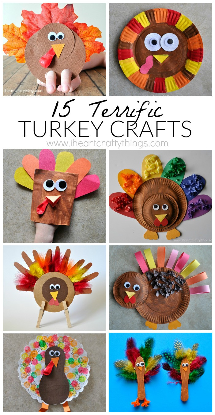 Best ideas about Thanksgiving Art Projects For Preschoolers . Save or Pin 15 Terrific Turkey Crafts for Kids Now.