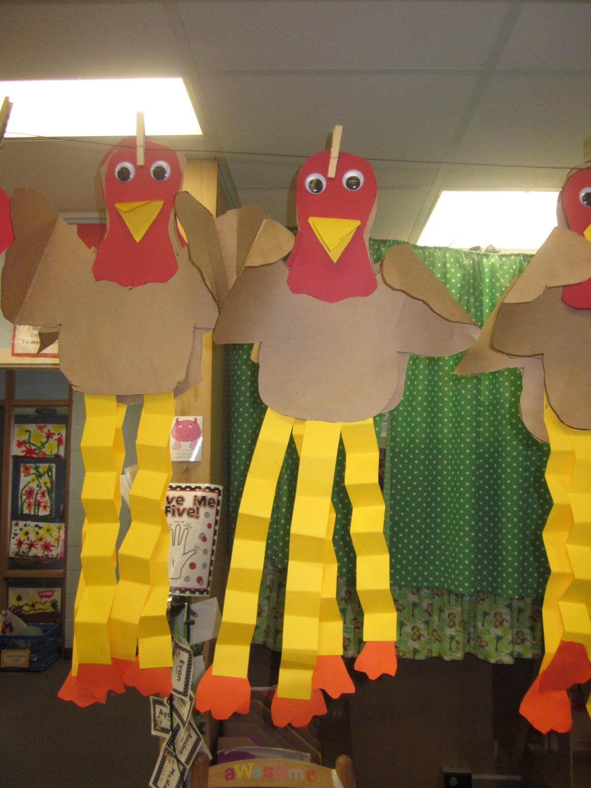 Best ideas about Thanksgiving Art Projects For Preschoolers . Save or Pin Mrs Miner s Kindergarten Monkey Business Gobble Up This Now.