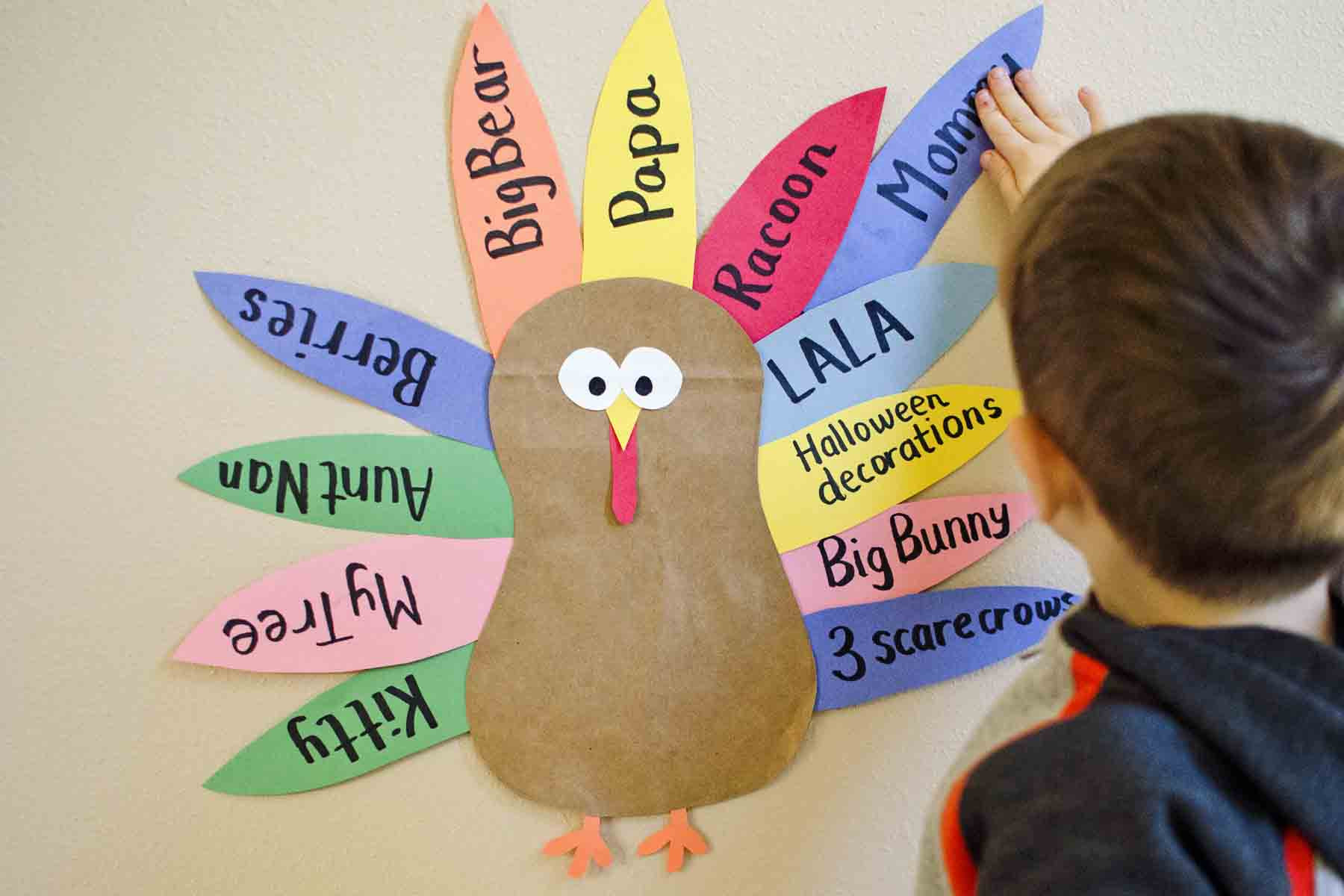 Best ideas about Thanksgiving Art Projects For Toddlers . Save or Pin Teaching Toddlers to be Thankful Busy Toddler Now.