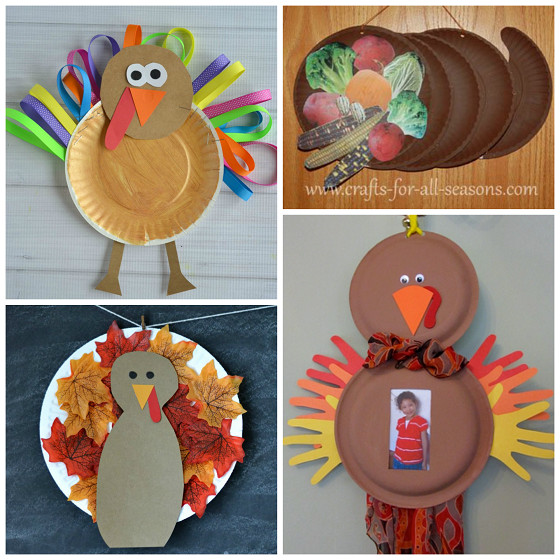 Best ideas about Thanksgiving Art Projects For Toddlers . Save or Pin Thanksgiving Paper Plate Crafts for Kids Crafty Morning Now.