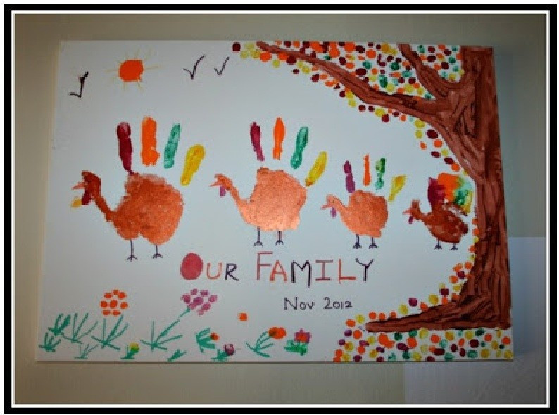 Best ideas about Thanksgiving Art Projects For Toddlers . Save or Pin 36 Thanksgiving Craft Ideas For Kids Now.