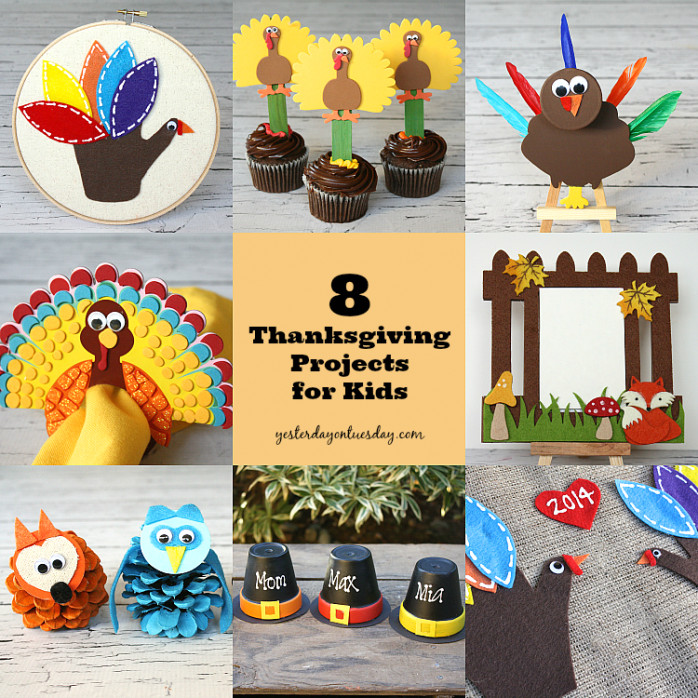 Best ideas about Thanksgiving Art Projects For Toddlers . Save or Pin 8 Thanksgiving Projects for Kids Now.