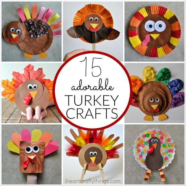 Best ideas about Thanksgiving Arts And Crafts For Kids . Save or Pin 15 Terrific Turkey Crafts for Kids Now.