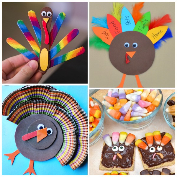 Best ideas about Thanksgiving Arts And Crafts For Kids . Save or Pin Turkey Crafts for Kids Now.