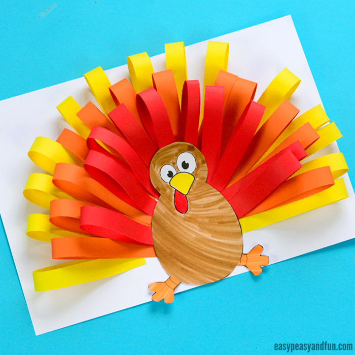 Best ideas about Thanksgiving Arts And Crafts For Kids . Save or Pin Turkey Crafts for Kids Wonderful Art and Craft Ideas for Now.