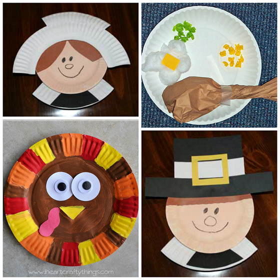 Best ideas about Thanksgiving Arts And Crafts For Kids . Save or Pin Thanksgiving Paper Plate Crafts for Kids Crafty Morning Now.