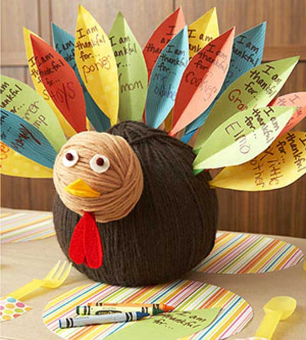 Best ideas about Thanksgiving Arts And Crafts For Kids . Save or Pin 28 Great DIY Decor Ideas For The Best Thanksgiving Holiday Now.