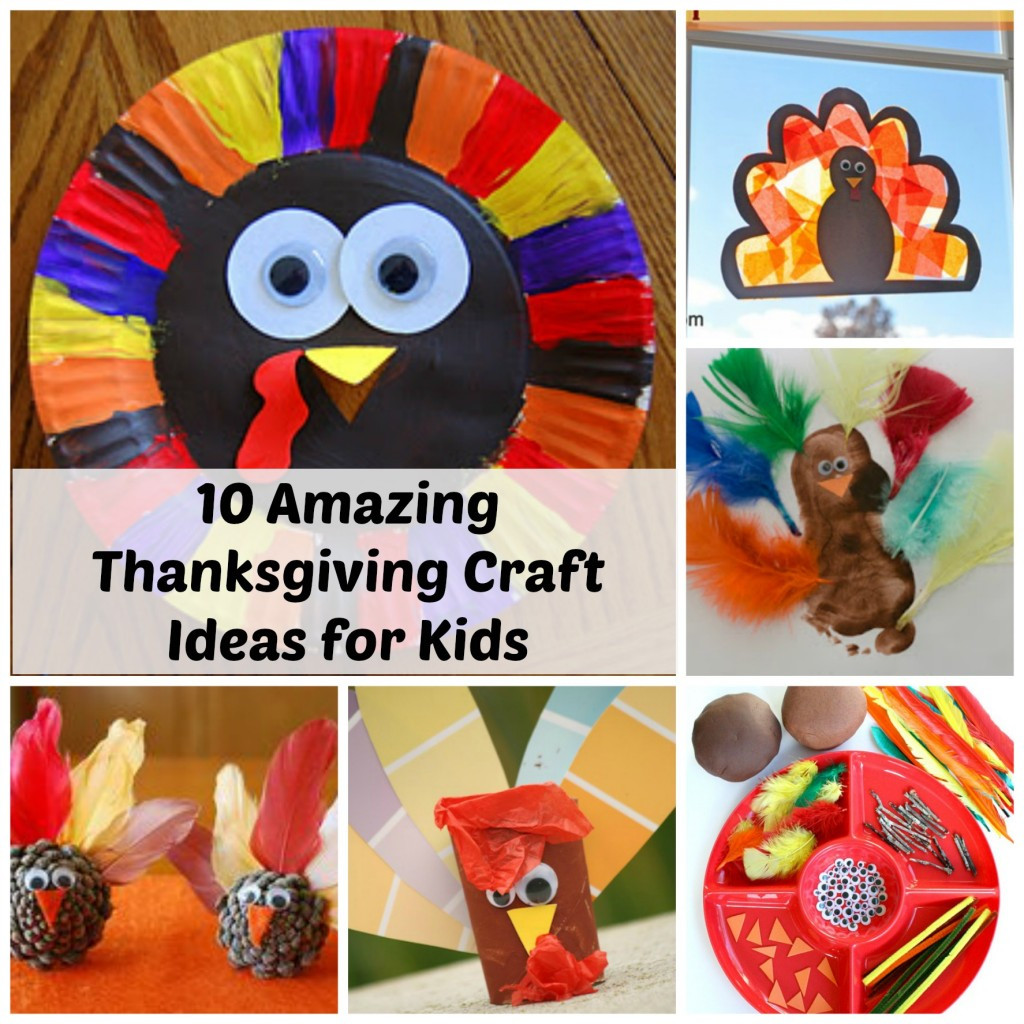 Best ideas about Thanksgiving Craft Ideas For Kids . Save or Pin Thanksgiving Craft Ideas for Kids 10 Amazing Ideas Now.