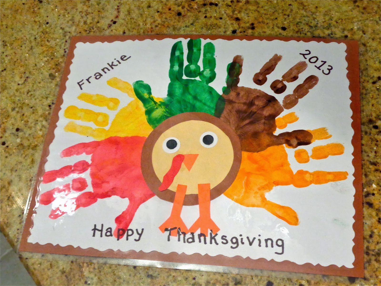 Best ideas about Thanksgiving Crafts For Preschoolers Free . Save or Pin Terrific Preschool Years Thanksgiving placemats Now.