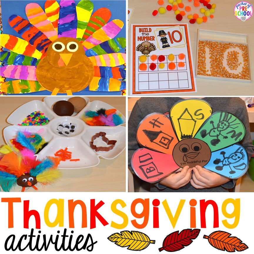 Best ideas about Thanksgiving Crafts For Preschoolers Free . Save or Pin Thanksgiving Books for Little Learners Pocket of Preschool Now.