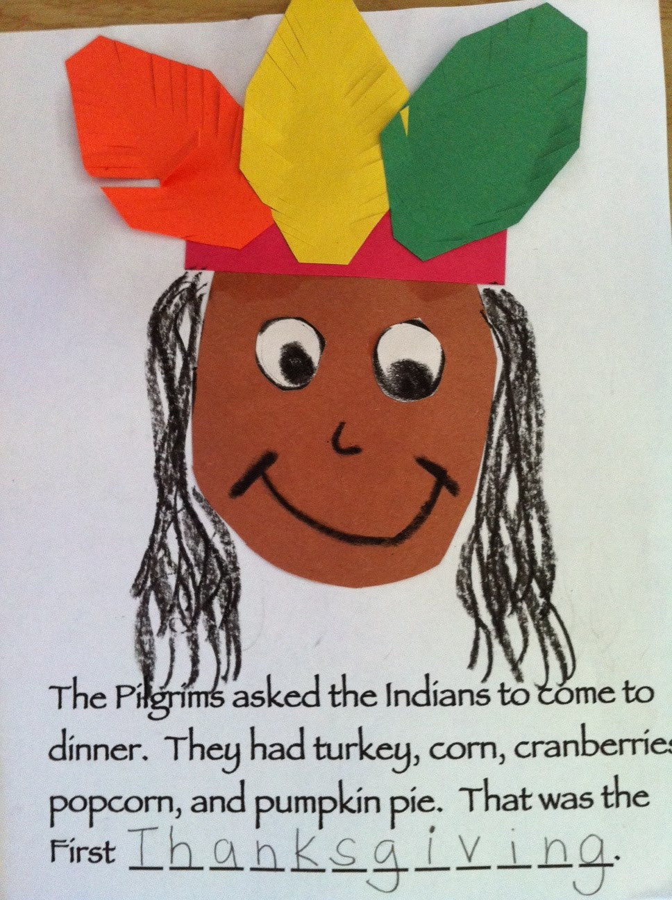 Best ideas about Thanksgiving Crafts For Preschoolers Free . Save or Pin Kindergarten Kids At Play Thanksgiving Crafts Now.