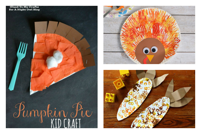 Best ideas about Thanksgiving Crafts For Preschoolers Free . Save or Pin 8 super fun and easy Thanksgiving crafts for kids Now.